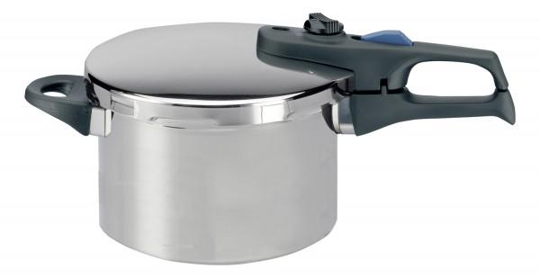 ELO Praktika Plus XL - Schnellkochtopf mit Einsatz und Standfuß