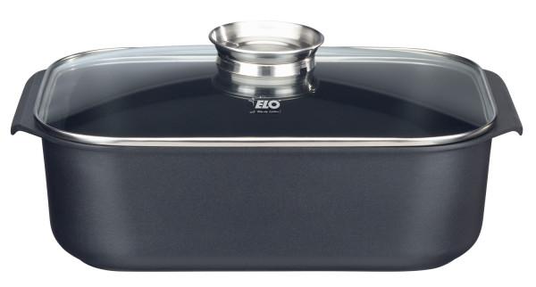 ELO Rafinesse - Rechteckbräter mit Glasdeckel und Aromatopf